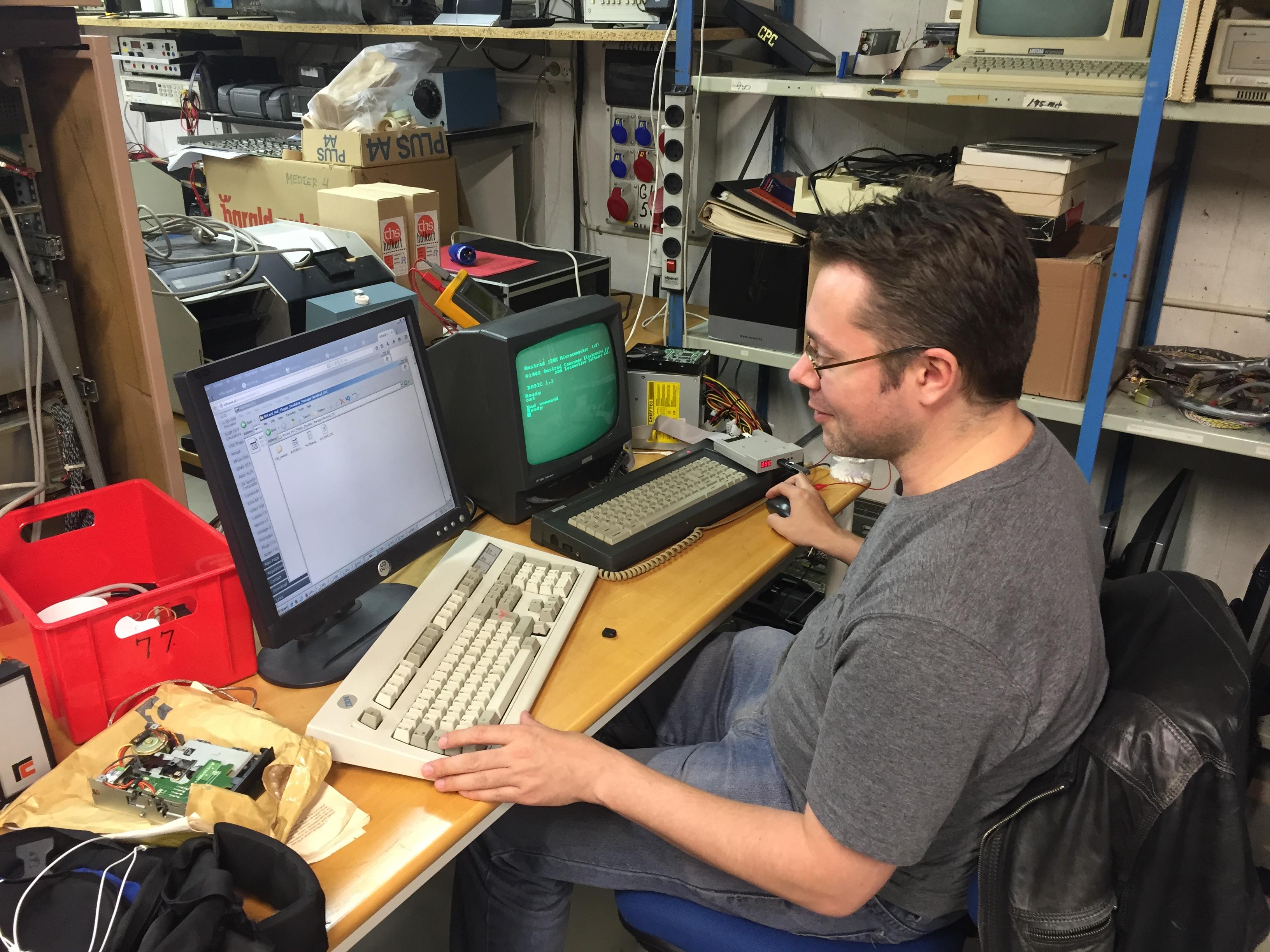 Liv i Amstrad USB